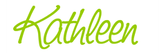 kathleen sign lime