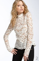 Marc by Marc Jacobs 'Bronte' Lace Top