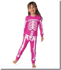 girl skeleton