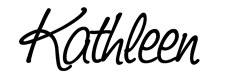 kathleen sign black