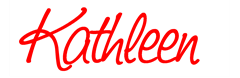 kathleen sign red