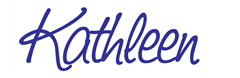 kathleen sign blue